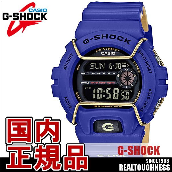 CASIO G-SHOCK ジーショック メンズ 腕時計 GLS-6900-2JF G-LIDE ジーライド デジタル プロテクター付き 青 ブルー