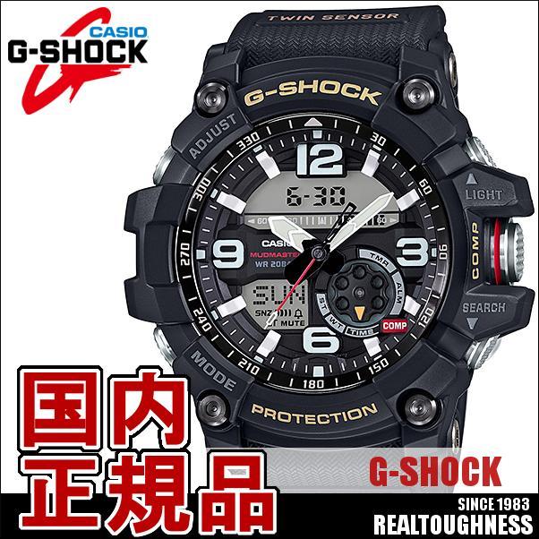CASIO G-SHOCK ジーショック メンズ 腕時計 GG-1000-1AJF Gショックマッドマスター GSHOCKMUDMASTER ブラック 黒