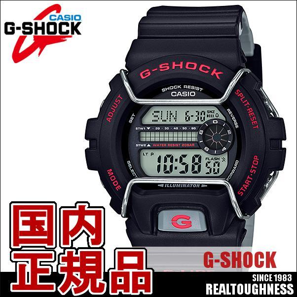 CASIO G-SHOCK ジーショック メンズ 腕時計 GLS-6900-1JF スポーツライン G-LIDE Gライド 黒 ブラック