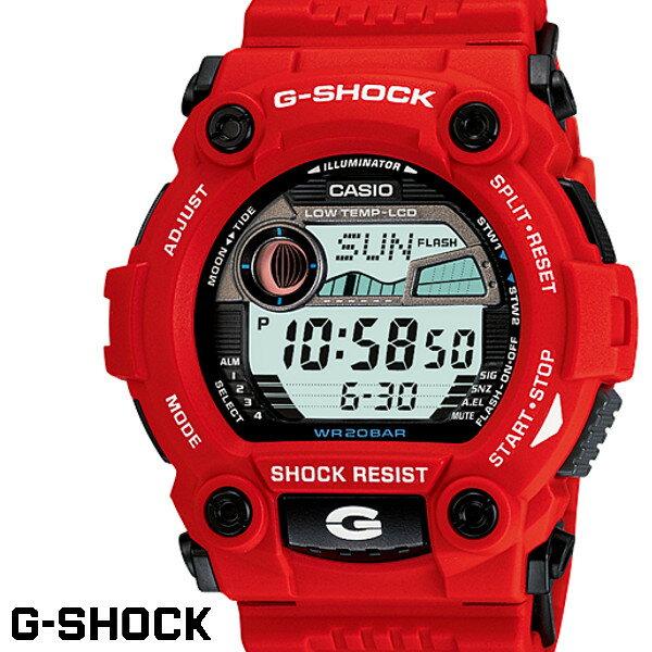 G-SHOCK gーshock Gショック ジーショック メンズ 腕時計 G-SHOCK CASIO G-7900A-4 タイドグラフ レッド 赤