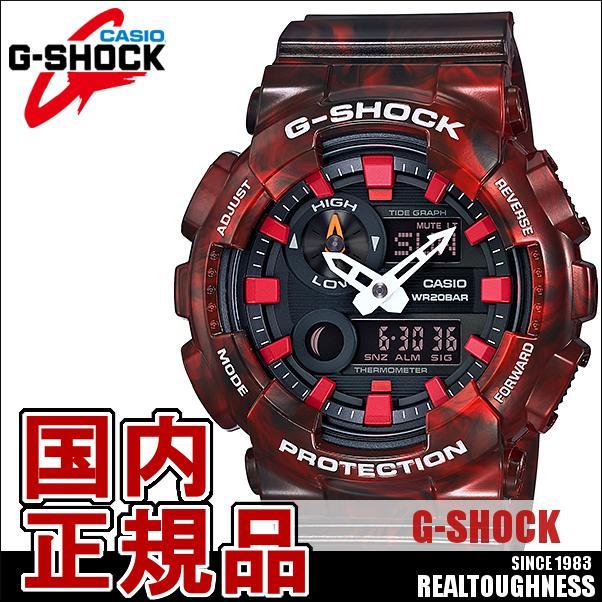 CASIO G-SHOCK ジーショック メンズ 腕時計 GAX-100MB-4AJF G-LIDE ジーライド 赤 レッド
