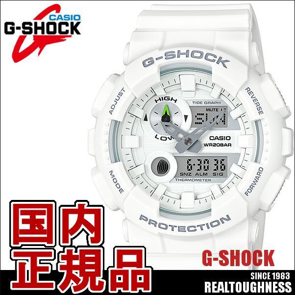 CASIO G-SHOCK ジーショック メンズ 腕時計 GAX-100A-7AJF G-LIDE ジーライド 白 ホワイト