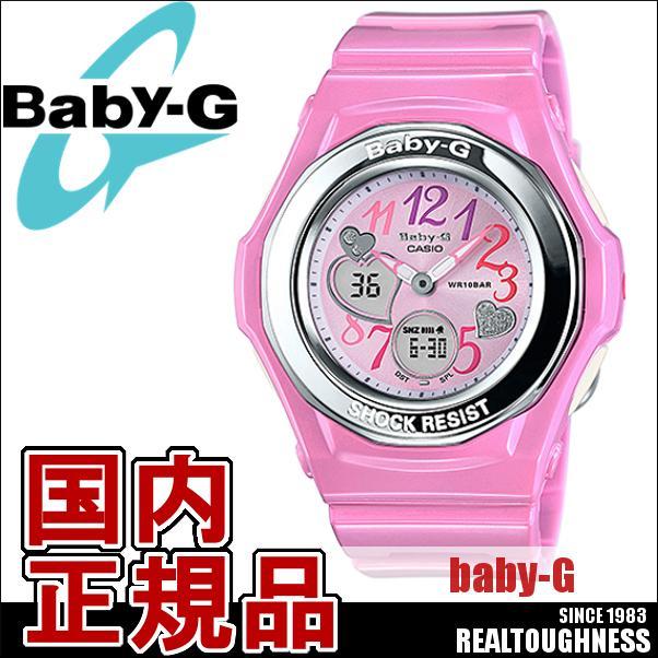 CASIO/BABY-G/カシオ ベビーG ジェミーダイアル 腕時計 うでどけい レディース LADIE'S ピンク BGA-101-4B2JF