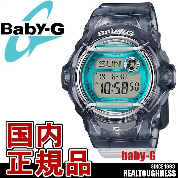 CASIO/BABY-G/カシオ ベビーG カラーディスプレイ 腕時計 うでどけい レディース LADIE'S スケルトン ブルー 青 BG-169R-8BJF