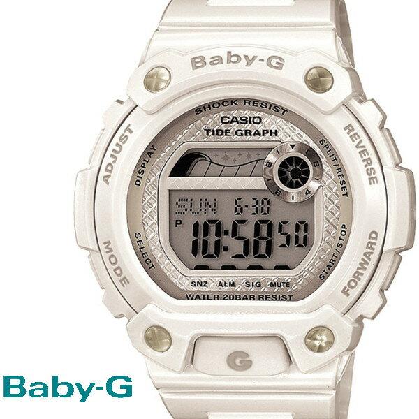 CASIO/BABY-G/カシオ ベビーG G−ライド 腕時計 うでどけい レディース LADIE'S ホワイト 白 BLX-100-7