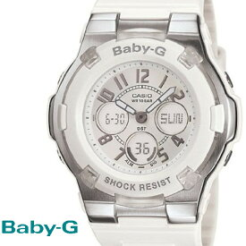 CASIO/BABY-G/カシオ ベビーG G−ライド 腕時計 うでどけい レディース LADIE'S ホワイト 白 BGA-110-7B
