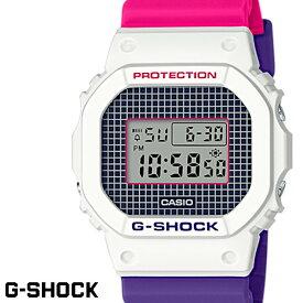 【送料無料 あす楽対応】G-SHOCK ジーショック 腕時計 並行輸入品 メンズ men's レディース Ladies デジタル DW-5600THB-7 ホワイト ピンク パープル
