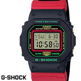 【送料無料 あす楽対応】G-SHOCK ジーショック 腕時計 並行輸入品 メンズ men's レディース Ladies デジタル DW-5600THC-1 クロスバンド ブラック レッド グリーン