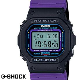 【送料無料 あす楽対応】G-SHOCK ジーショック 腕時計 替えベルト付き メンズ men's レディース Ladies デジタル DW-5600THS-1 クロスバンド ブラック パープル ブルー