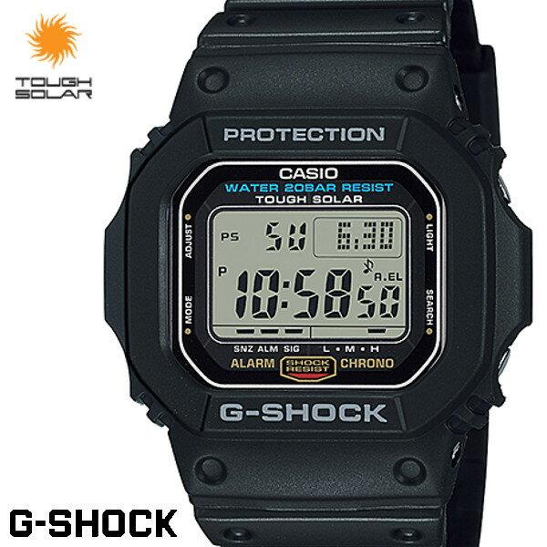カシオ CASIO G-SHOCK Gショック ジーショック 腕時計 メンズ G-5600E-1 ソーラー