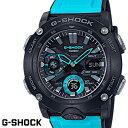 CASIO G-SHOCK ジーショック メンズ 腕時計 GA-2000-1A2 カーボンコアガード構造 ブルー ブラック