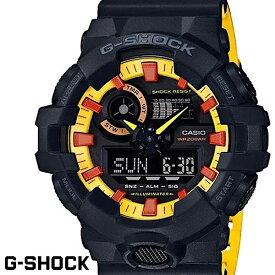 【訳あり】【マウス不良】 CASIO G-SHOCK ジーショック カシオ Gショック メンズ 腕時計 GA-700BY-1APR ブラック イエロー DC ジャスティスリーグ 並行輸入品