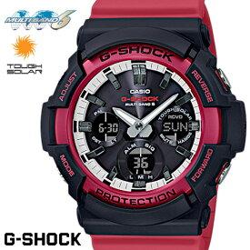 CASIO G-SHOCK 電波ソーラー GAW-100RB-1A Gショック アナログ デジタル 腕時計 メンズ ブラック レッド 電波 ソーラー カシオ