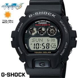 CASIO G-SHOCK メンズ 腕時計 Gショック 電波 ソーラー GW-6900-1 ブラック うでどけい g−shock ブラック G−SHOCK