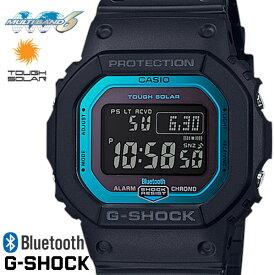 G-SHOCK ジーショック 腕時計 うでどけい メンズ men's レディース Ladies Bluetooth GW-B5600-2 ブラック ブルー