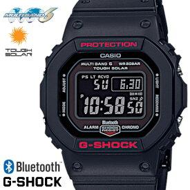 G-SHOCK ジーショック 腕時計 うでどけい メンズ men's レディース Ladies Bluetooth GW-B5600HR-1 ブラック レッド