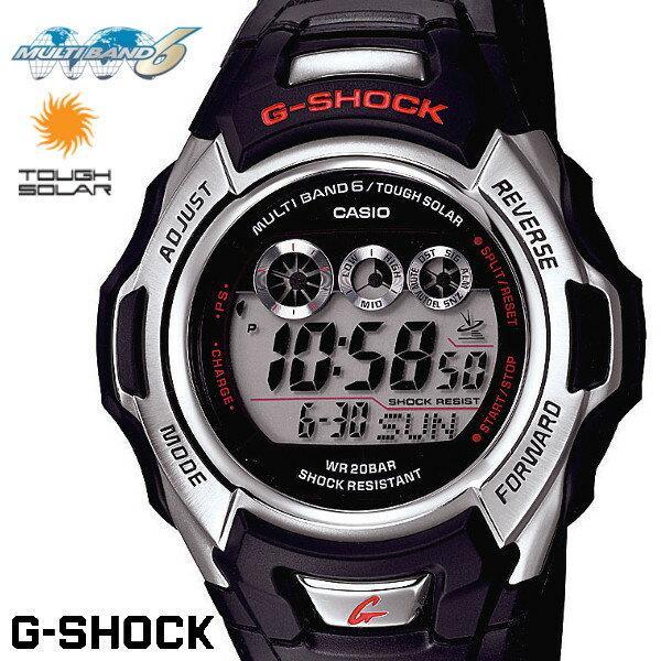 CASIO G-SHOCK ジーショック 電波ソーラー 黒 ブラック デジタル ブランド メンズ 腕時計 GW-M500A-1 G−SHOCK