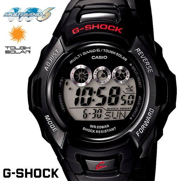 CASIO G-SHOCK ジーショック 電波ソーラー 黒 ブラック デジタル ブランド メンズ 腕時計 GW-M530A-1 G−SHOCK