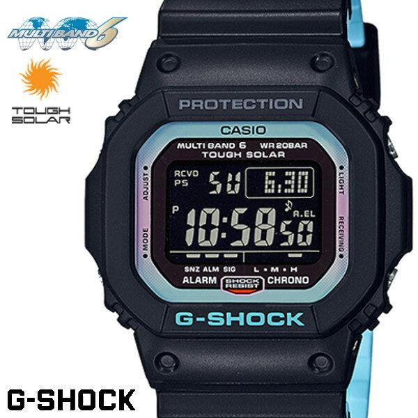 G-SHOCK ジーショック CASIO 電波ソーラー メンズ 腕時計 GW-M5610PC-1 Neon accent color ネオンアクセントカラー