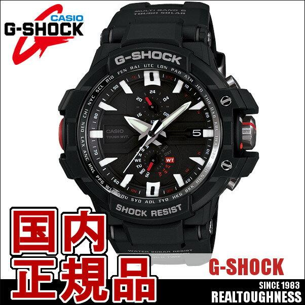 CASIO G-SHOCK ジーショック メンズ 腕時計 GW-A1000-1AJF SKYCOCKPIT スカイコックピット 電波ソーラー ブラック