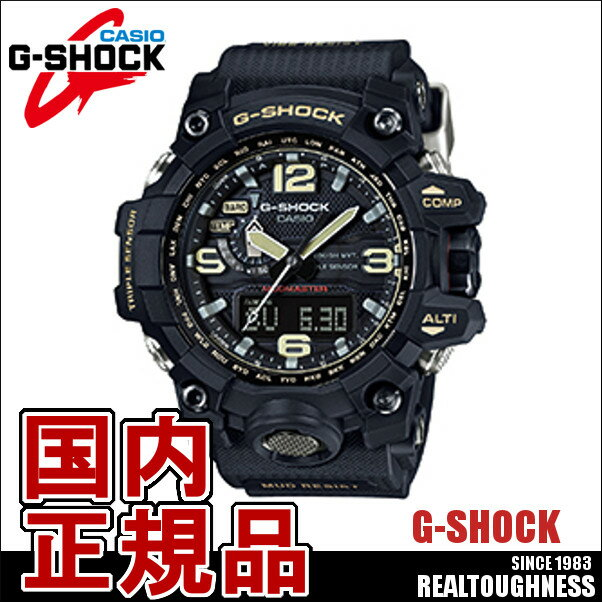 CASIO G-SHOCK ジーショック メンズ 腕時計 GWG-1000-1AJF G-LIDE MUDMASTER マッドマスター 電波ソーラー ブラック