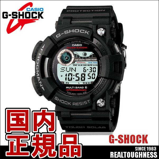 CASIO G-SHOCK ジーショック メンズ 腕時計 GWF-1000-1JF MAsterofG マスターオブG FROGMAN フロッグマン タイドグラフ