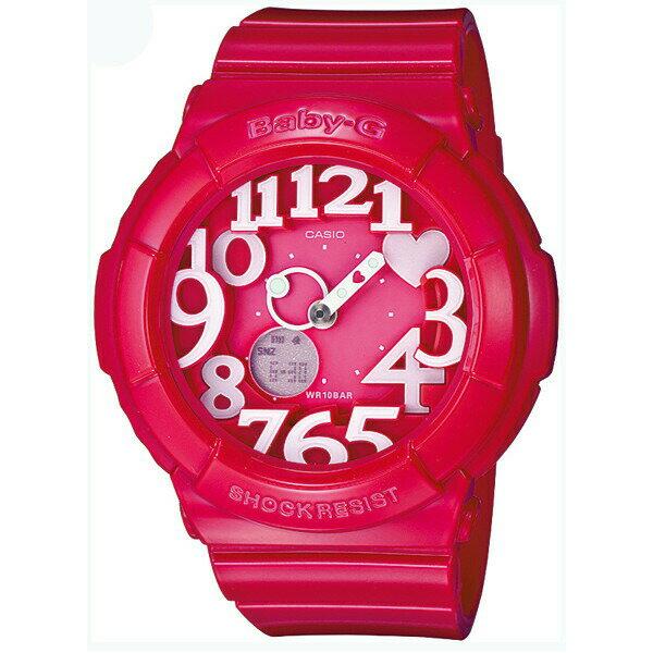 CASIO BABY-G カシオ ベビーG ネオンダイアルシリーズ 腕時計 うでどけい レディース LADIE'S ピンク BGA-130-4B
