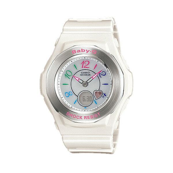 CASIO/BABY-G/カシオ ベビーG トリッパー 電波ソーラー 腕時計 うでどけい レディース LADIE'S ホワイト BGA-1020-7BJF