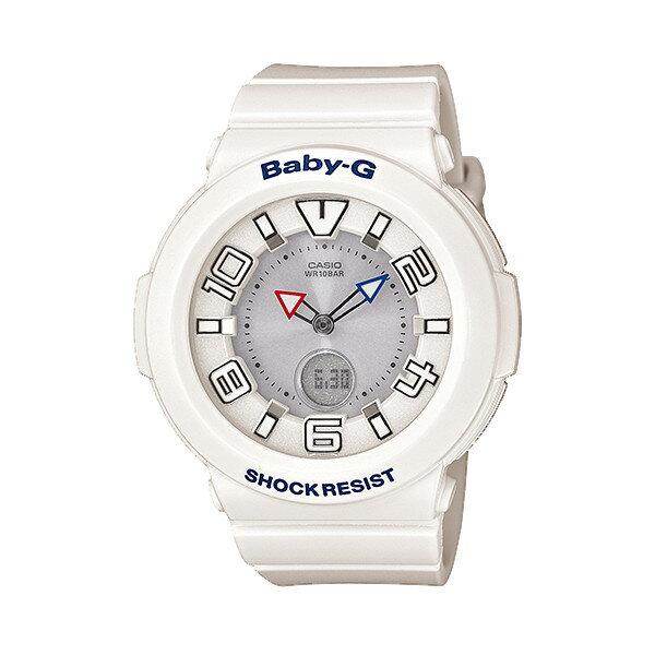 CASIO/BABY-G/カシオ ベビーG tripper 電波ソーラー ソーラー電波 腕時計 うでどけい レディース LADIE'S ホワイト BGA-1600-7B1JF