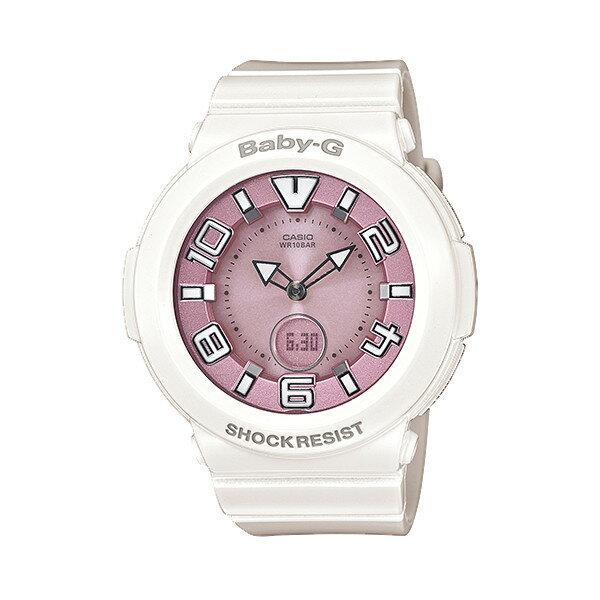 CASIO/BABY-G/カシオ ベビーG tripper 電波ソーラー ソーラー電波 腕時計 うでどけい レディース LADIE'S ホワイト BGA-1600-7B2JF