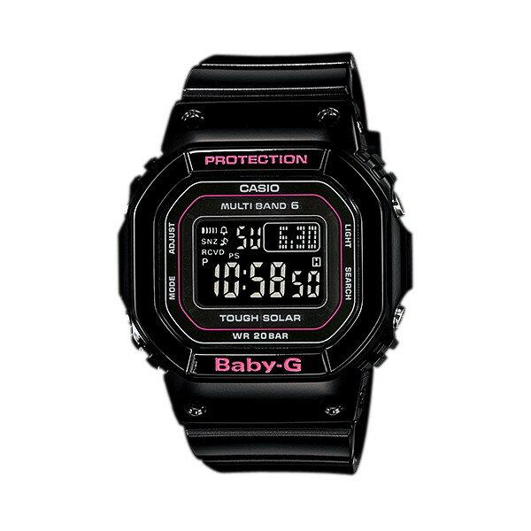 CASIO/BABY-G/カシオ ベビーG Tripper トリッパー 電波ソーラー ソーラー電波 腕時計 うでどけい レディース LADIE'S ブラック ピンク BGD-5000-1JF