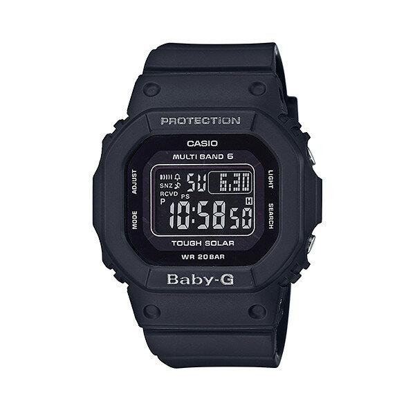 CASIO/BABY-G/カシオ ベビーG 電波ソーラー ソーラー電波 マルチバンド 腕時計 うでどけい レディース LADIE'S ブラック BGD-5000MD-1JF