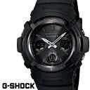G-SHOCK ジーショック 電波ソーラー 黒 ブラック デジタル アナログ ブランド メンズ 腕時計 AWG-M100B-1 G−SHOCK G…