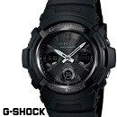 【CASIO/G-SHOCK】【電波ソーラー/アナデジ】【黒/ブラック】カシオGショックAWG-M100B-1デジタルアナログ世界6局電波マルチバンド6【国内品番:AWG-M100B-1AJF】