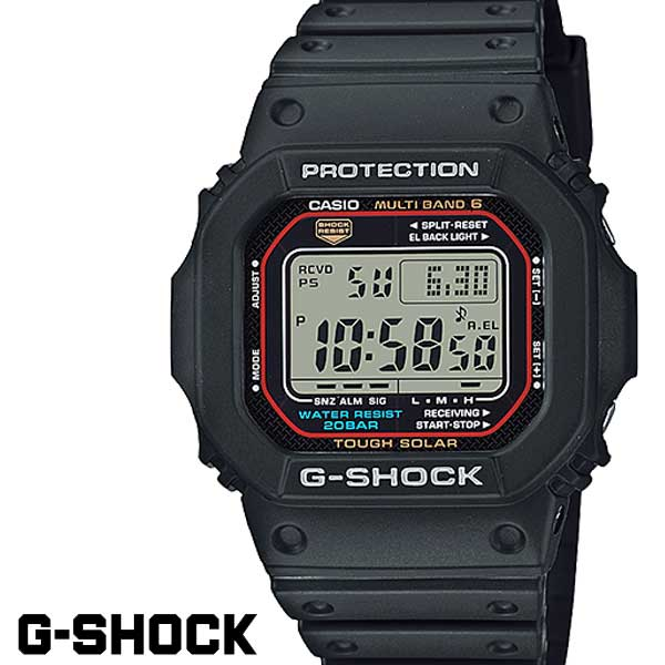 G-SHOCK ジーショック 電波ソーラー メンズ 腕時計 GW-M5610-1 ORIGIN G−SHOCK g-shock ブラック 黒 5600