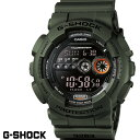 G-SHOCK ジーショック メンズ 腕時計 GD-100MS-3 ミリタリー ワールドタイム ブラック カーキ うでどけい メンズ G−S…