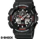 CASIO GA-100-1A4 G-SHOCK Gショック CASIO 腕時計 うでどけい メンズ ブラック アナログ デジタル