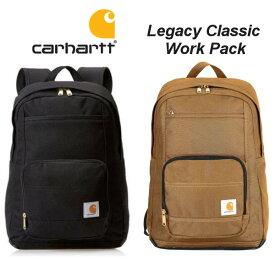 【店内全品ポイント2倍!!】Carhartt Legacy Classic Work Pack カーハート バックパック リュック メンズ レディース ブラック ブラウン 通勤 通学
