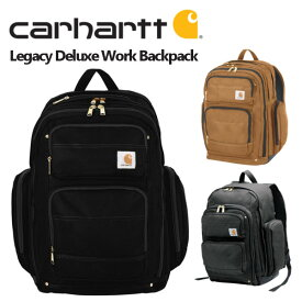 Carhartt カーハート Legacy Deluxe Work Pack バックパック リュック メンズ レディース ブラック ブラウン レガシーデラックス ワークパック