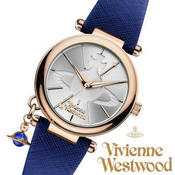 【送料無料】ヴィヴィアンウエストウッド 腕時計 オーブチャーム付き ORB POP オーブ ブランド レディース VV006RSBL VV006-RSBL ローズゴールド