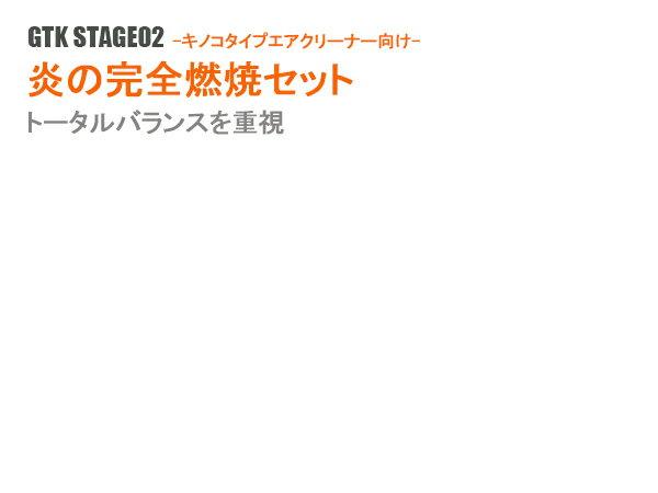 【燃費改善/トルクアップ】GTK STAGE02 - 炎の完全燃焼セット- -キノコタイプ