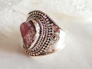 \1点もの/インカローズ(ロードクロサイト) シルバー925 リング #16号 指輪 天然石 パワーストーン 誕生石 レディース ギフト プレゼント ピンク