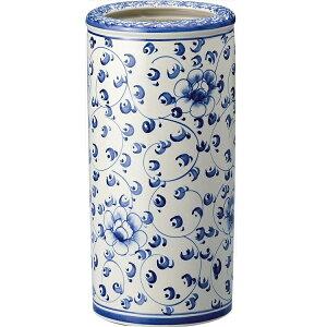 【送料無料】陶器傘立てU-06KB4【傘立て陶器白スリムかわいいおしゃれおすすめ人気アンティークハンドメイド】