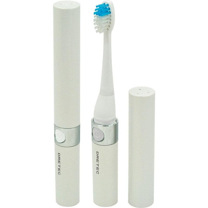 【送料無料】 ドリテック 音波電動歯ブラシ「ドクター・ソニック」 ホワイト TB-303WT