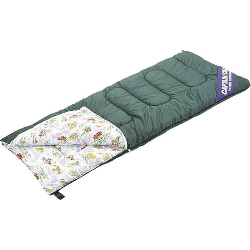 【送料無料】 NEWフォリア シュラフ〈封筒型〉(3シーズン用) 高山植物柄 M-3412 【寝袋 ねぶくろ ふうとうがた コンパクト 収納袋 5度から 全開 広がる 暖かい あたたかい】