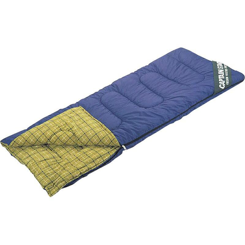 【送料無料】 NEWフォリア シュラフ〈封筒型〉(3シーズン用) チェック柄 M-3413 【寝袋 ねぶくろ ふうとうがた コンパクト 収納袋 5度から 全開 広がる 暖かい あたたかい】