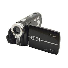 【送料無料】 ケンコー カンタンデジタルハイビジョンムービーカメラ VS-FUNIII 【デジカメ デジタルカメラ 動画撮影 写真 コンパクト 電池式 ライト付き 軽い かるい】