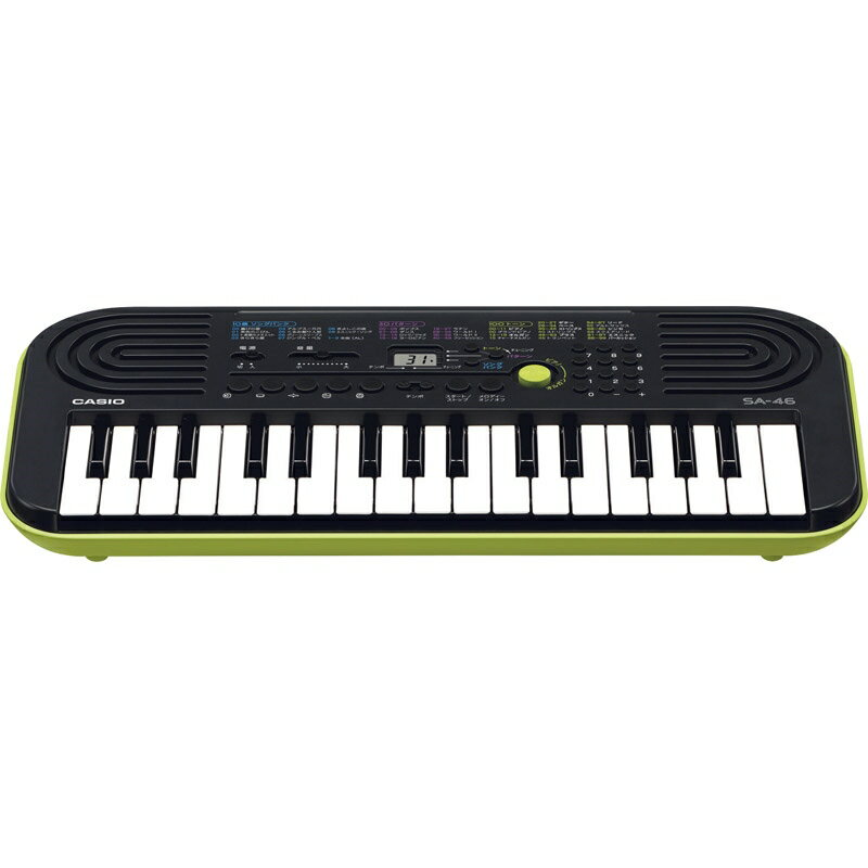 カシオ 32鍵盤ミニキーボード SA-46
