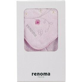 レノマ 婦人タオルハンカチ 1枚入 ピンク REL0558[tr]