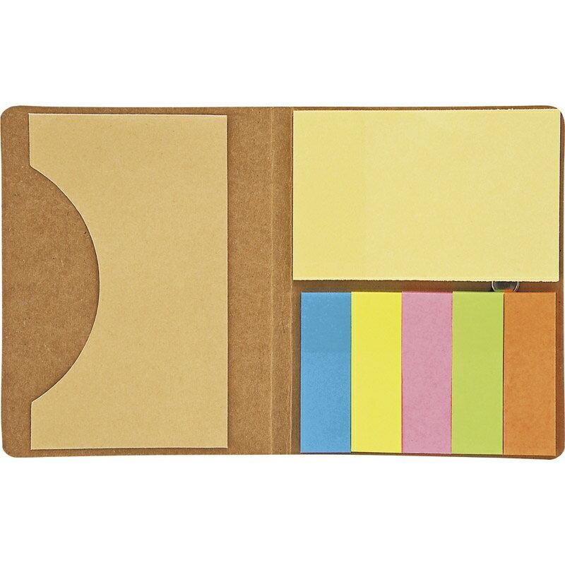 サンライズ カードケース付エコ付箋セット SR-43